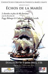 Affiche Échos de la Marée 2013